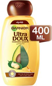 Garnier Ultra Doux Avocado Oil - Shea Butter Shampoo 400ml : Buy Online  Shampoos & Conditioners at Best Prices in Egypt | Souq.com