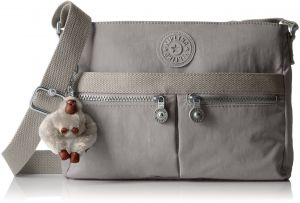 cc9ca5b9a2d5a Kipling Women s Angie Crossbody Bag One Size Slate Grey T