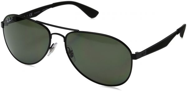 e57a7d5018a Ray-Ban Men s Metal Man Polarized Aviator Sunglasses