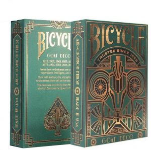 d5fe5b977a08 Toys Board Game Bicycle Goat magic tricks magic props playing cards  imported Funny Poker Ellusionist Arcane Deck(Adult)