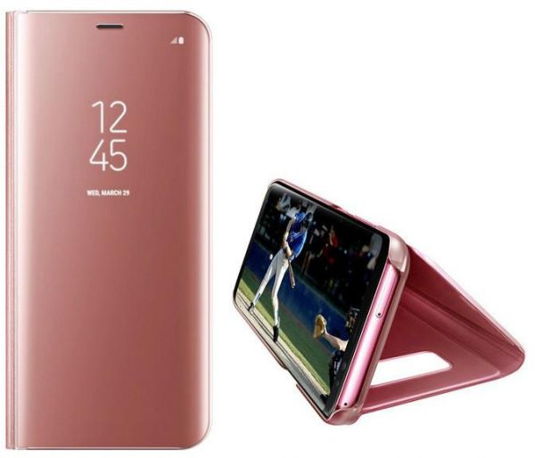 purchase cheap 421ca 2c082 Samsung Galaxy S8 Plus Clear View Stand Cover Case - Pink