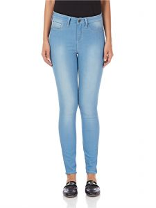 21167b62a12 Tiffosi One Size Fits All Skinny Jeans for Women - Light Blue