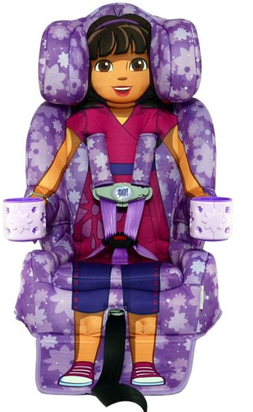 Kids Embrace Nickelodeon Dora And Friends Combination Harness Booster Car Seat