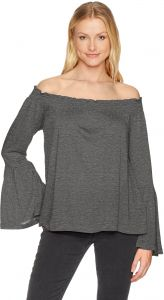 529a5f44f68e cupcakes and cashmere Women s Luck Off The Shoulder Top