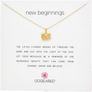 Buy dogeared reminder new beginnings sterling silver rising lotus buy dogeared reminder new beginnings sterling silver rising lotus pendant necklace 16 2 extender necklaces uae souq mightylinksfo