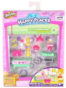 a12e4d172b Shopkins Happy Places Shopkins Series 1 Kitty Dinner Party Decorator Pack -  5 Years   Above