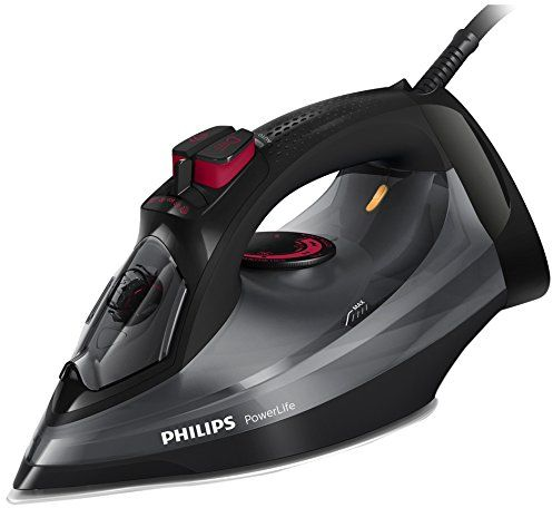 Philips PowerLife Steam Iron, Black - GC2998/86