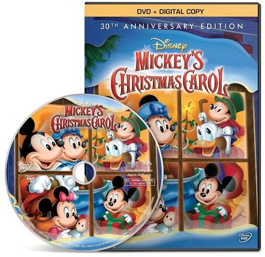 this item is currently out of stock - Mickeys Christmas Carol Dvd