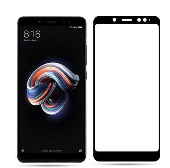 newest 6164c 84747 5D Curved Full Cover Tempered Glass Xiaomi Redmi Note 5 Pro Screen  Protector 9H Full Glue Coverage Glass