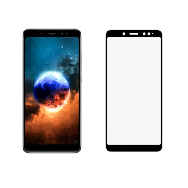 info for 04ab4 fb73d Tempered Glass for Xiaomi Redmi Note 5 Pro Screen Protector Film 3D Edge  Full Cover Glass BLACK 5.99 Inch