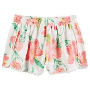 reputable site 09180 d6a46 Carters Pink Short For Girls