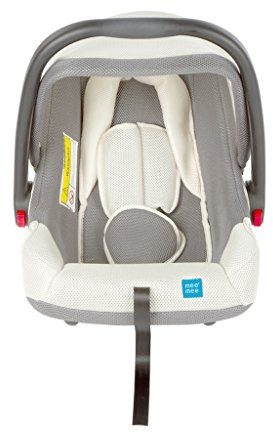 Mee Mee Baby Car Seat Cum Carry Cot With Thick Cushioned Seat Light