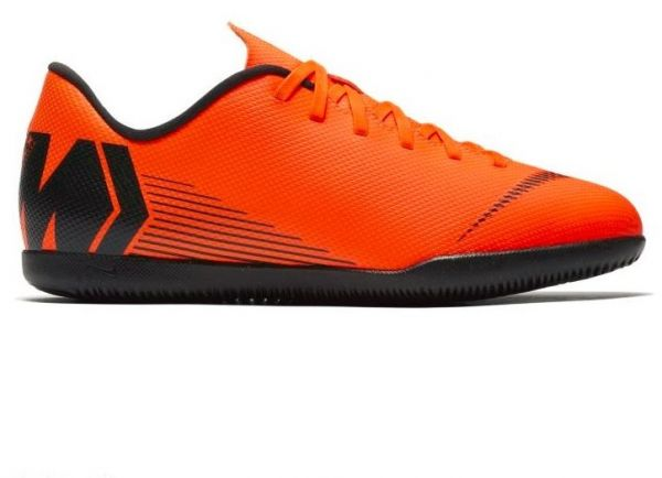 online store 91633 ba309 Nike Jr Vaporx 12 Club Gs TF Football Shoes For Boys - Orange Black   Souq  - Egypt