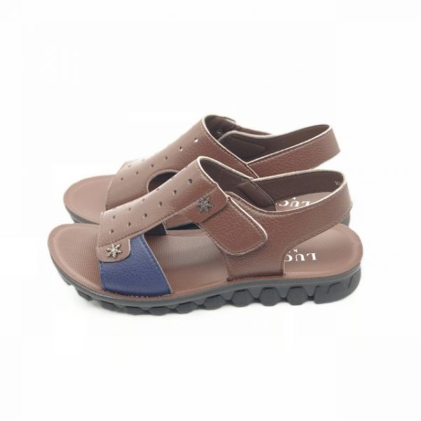 1fc6e4ff113 Lucky Leather Sandals For Boys
