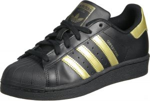 adidas superstar black and gold price