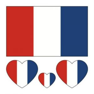 7b3563fbc World Cup 2018 Nations Tattoo Stickers Small Body Face Sticker Nation Flag  France
