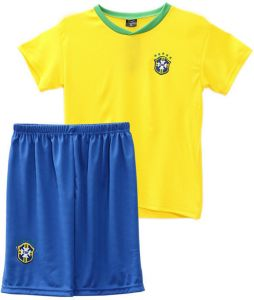 52916071f 2018 World Cup Children Football Jersey Brazil Team Football suits T-shirt  - M code