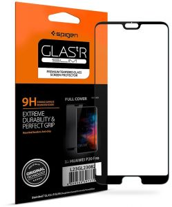 new style 10d9b d880b Spigen Huawei P20 PRO Glas.tR Slim Full Cover Tempered Glass Screen  Protector - Case Friendly