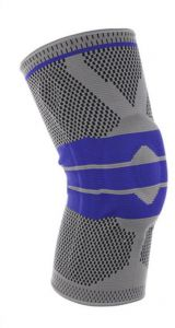 4d285d169 Basketball Support Silicon Padded sports Knee Pads Support Brace Meniscus  Patella Protector Sports Safety Protection Kneepad Free Size