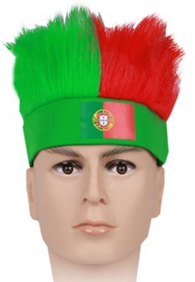 4c3dff4603e celebrate Portugal team Russia FIFA World Cup Football Fans Wig ...