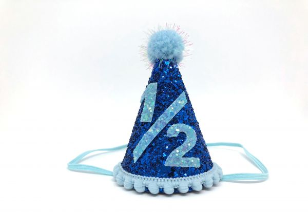 Boy Half Birthday Hat