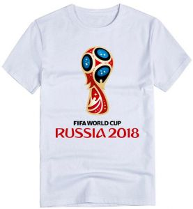 world Soccer Russian world Cup Brazil Fans Commemorative Short Sleeved T -  Shirts for Men and Womens 063ca715806