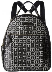 Tommy Hilfiger Womens Kelby Backpack Black White 6c02517f8c6b6