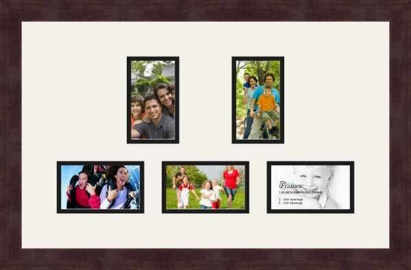 Souq | Art to Frames Double-Multimat-994-61/89-FRBW26061 Collage ...