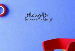 Black Design with Vinyl Moti 1652 2 Imagine Text Lettering Life Quote Peel /& Stick Wall Sticker Decal 12 x 30
