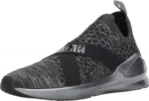 Puma Fierce Evoknit Training Shoes for Women - Grey  36770344e