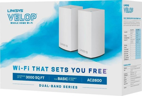 Linksys Velop Whole Home Intelligent Mesh Wifi System