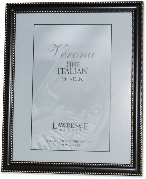 Lawrence Frames 8 by 10 Metal Picture Frame Oil Rubbed Bronze with ...