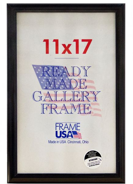11 x 17 Deluxe Poster Frame/Picture Frame w/Plexi-glass 11 x 17 ...