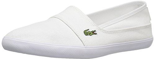 bd0d94215a1cb Lacoste Marice BI Canvas Slip-ons For Women