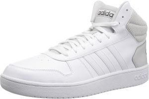 adidas VS Hoops Mid 2.0 Fashion Sneakers for Men White