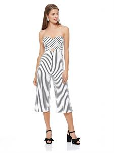 57e9e386009 Tally Weijl Straight Jumpsuit for Women - White