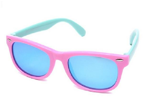 160822ac5 LANSERM Polarized Kids Sunglasses TPEE Rubber Flexible Sports Sunglasses  For Children