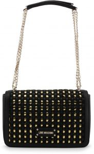 bee400e47f04 Love Moschino Women s Black Shoulder Bag JC4314PP05KR 100A