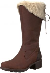 cfbbb6927 Merrell Chateau Tall Zip Polar Waterproof Winter Snow Boots for Women -  Brown