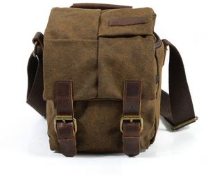7163d323e0c Shoulder slung SLR photography digital camera bag SLR camera bag Waterproof  canvas men and women bag-xsq