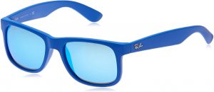 8dcb21906e Ray-Ban Square Unisex Sunglasses - Blue