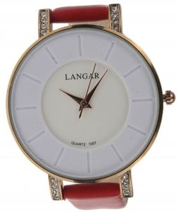Langar Casual Watch For Women Analog Leather - L038 3287fb10283