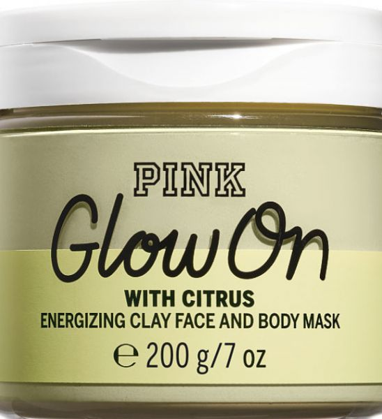 657fd49802235 Victoria's Secret PINK Clay Nourishing Face and Body Mask - Glow On with  Citrus
