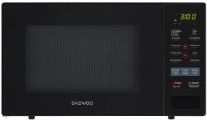 Daewoo Microwave Oven With Grill 34 Lt Black Kqg 9gpb