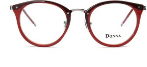 df76ed757ed1 DONNA Stylish Clear Lens Glasses Samll Circle Frame Blue Light Blocking for  Computer DN08-AGI