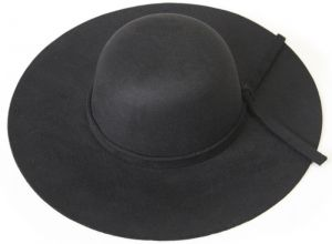 6de0f7da1d519 Black Bowler   Derby Hat For Women