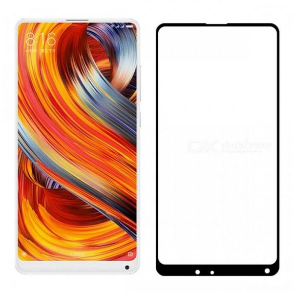 Xiaomi mI Mix 2s 3D Curved Full Coverage Tempered Glass Screen ...