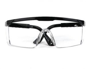 VIQILANY Safety Goggles Anti-wind ,sand ,Fog ,Dust Resistant Eyewear protective glasses - Black