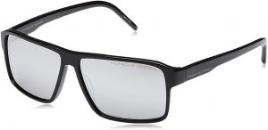 57f9551d2bc9 Porsche Design Unisex Square Sunglasses - Grey