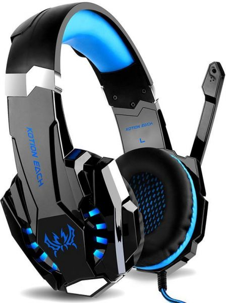 G9000 Gaming Headset Headphone 35mm Stereo Jack With Mic Led Light